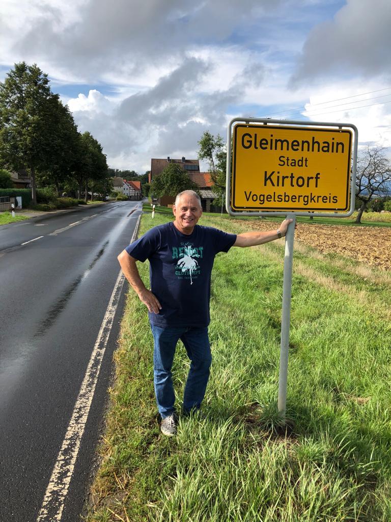 Ortsvorsteher Gerhard Immel zufrieden mit dem Erfolg